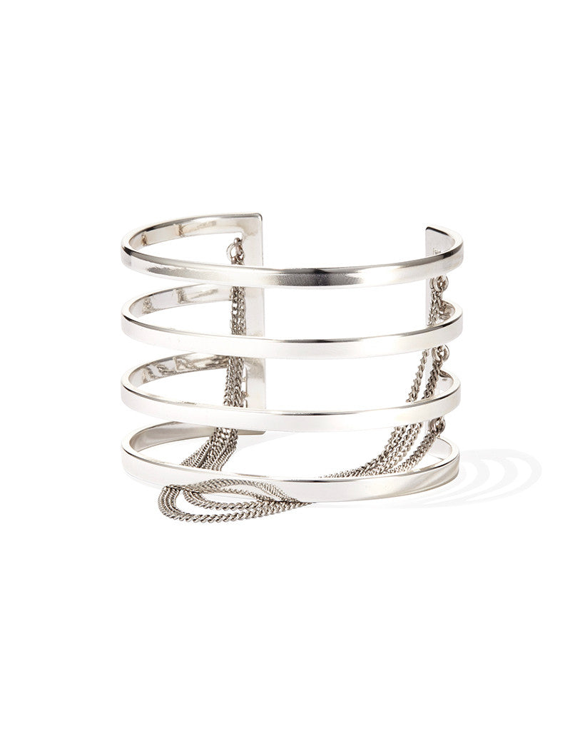 Jenny Bird Series Cuff in Silver - SWANK - Jewelry - 1