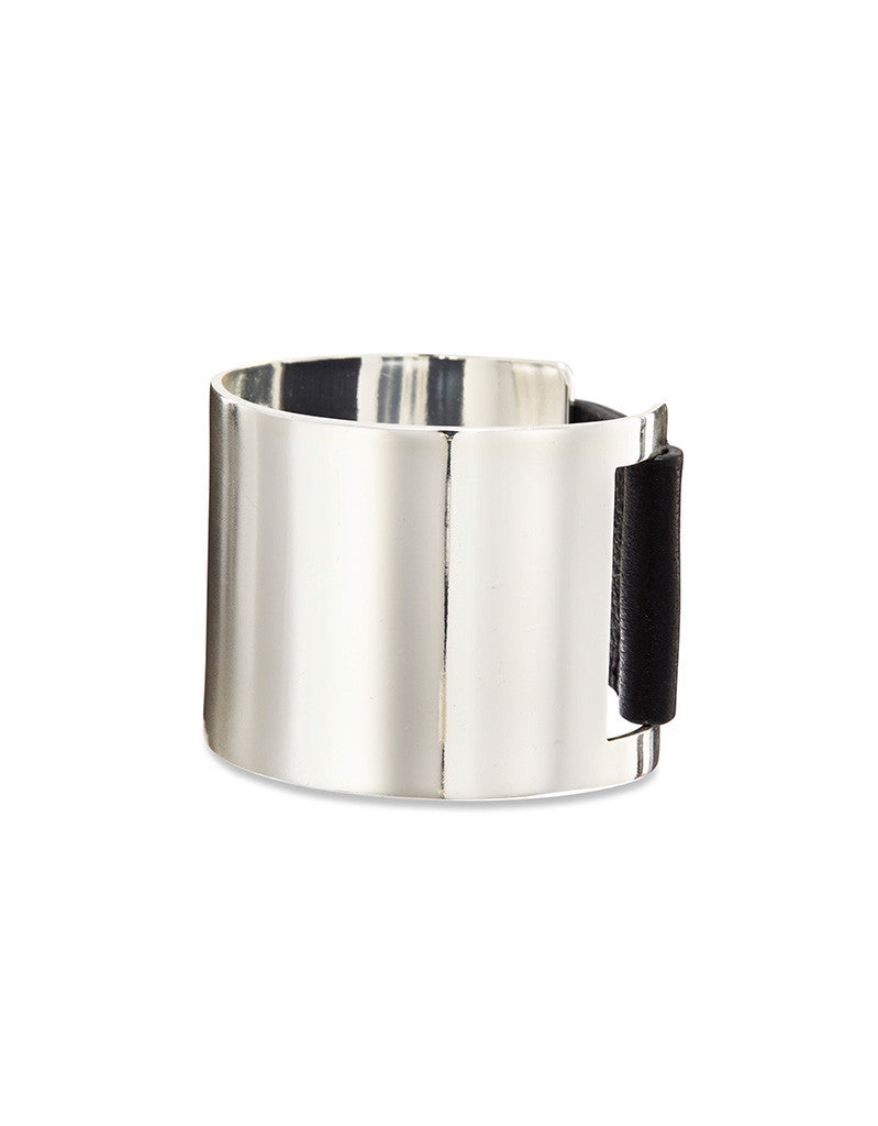 Jenny Bird THE Cuff in High Polish Silver - SWANK - Jewelry - 1