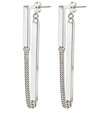 Jenny Bird Zenith Earrings in Silver