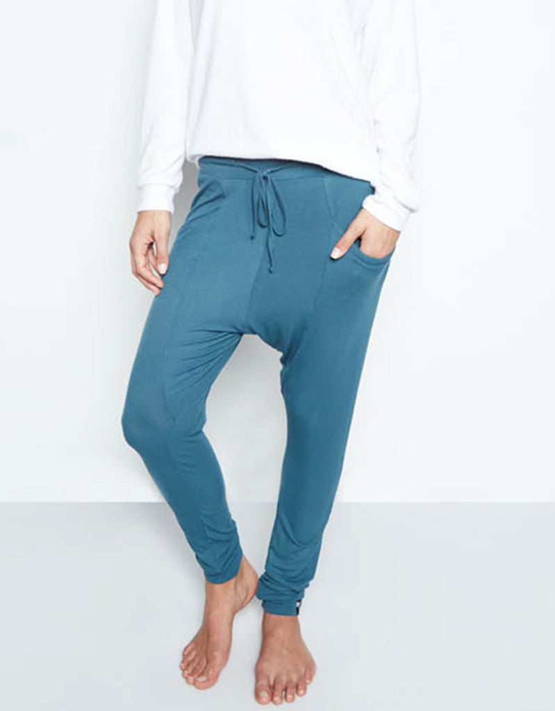 Michael Lauren Keaton Drop Crotch Legging - SWANK - Pants - 1