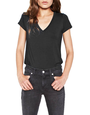 Michael Lauren Kendrick Fitted V-Neck Tee