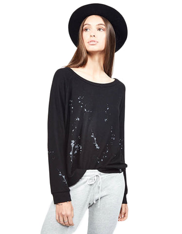 Michael Lauren Keller Button-Up Shirt in Black
