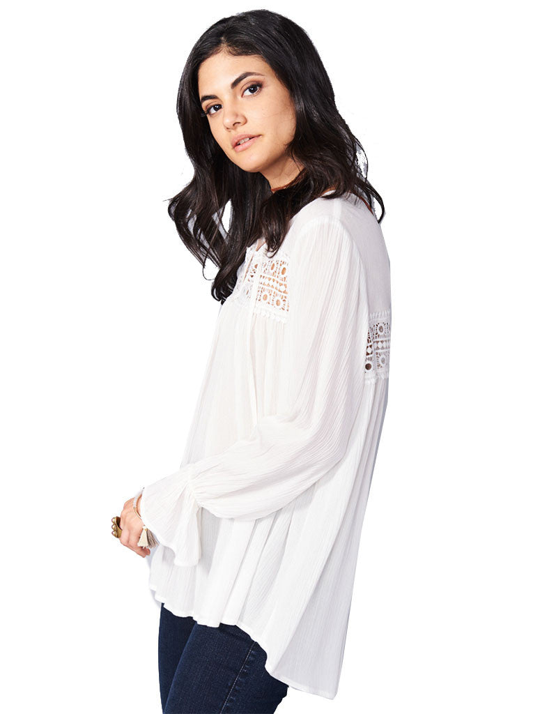 Show Me Your Mumu Lily Grace Tunic in White Cloud - SWANK - Tops - 3