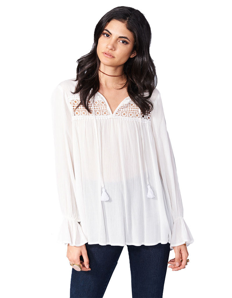 Show Me Your Mumu Lily Grace Tunic in White Cloud - SWANK - Tops - 4