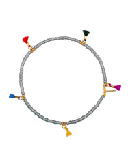 Shashi Lilu Bracelet in Grey