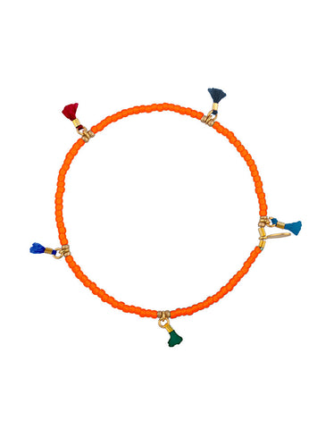 Shashi Lilu Bracelet in Orange