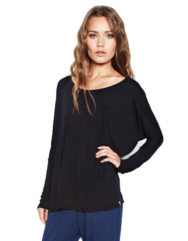 Michael Lauren Malcom Oversized Long Sleeve Tee