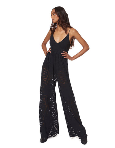 Mara Hoffman Compass Burn Out Jumpsuit