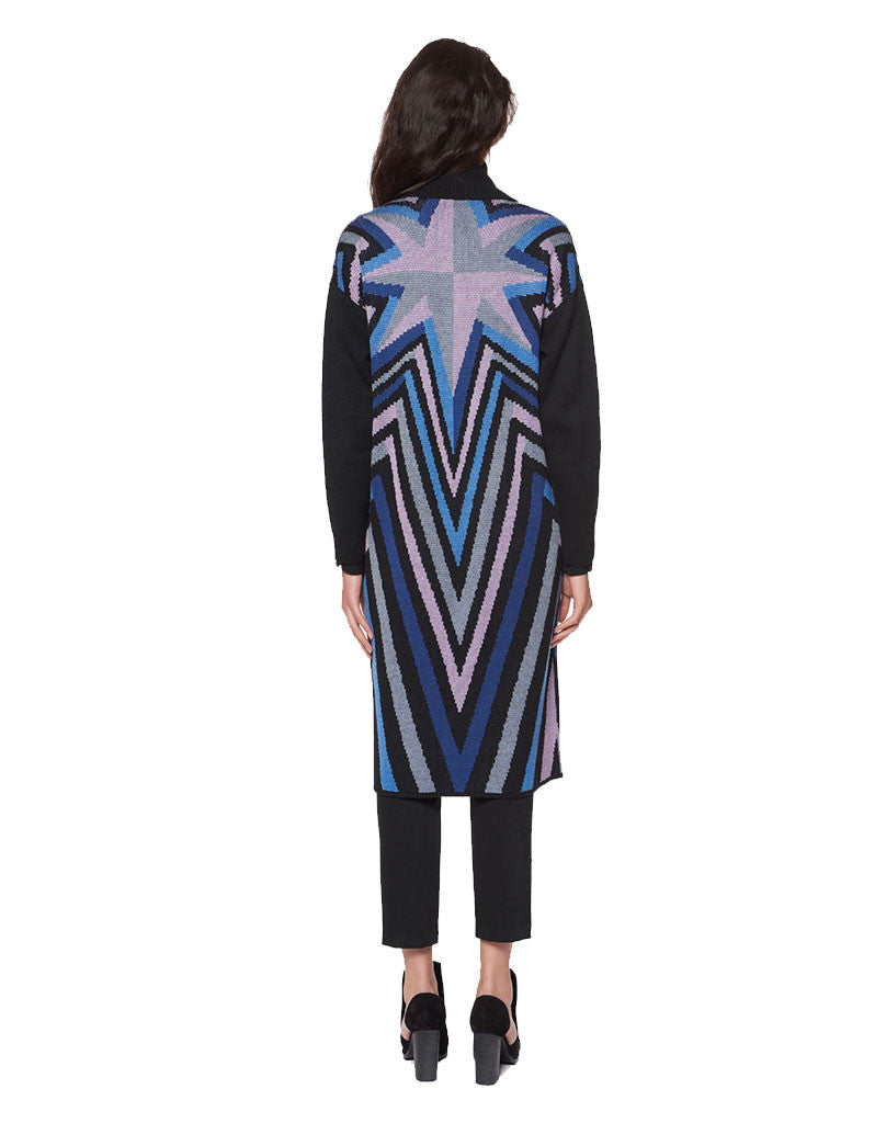 Mara Hoffman Compass Knit Long Cardigan - SWANK - Outerwear - 2