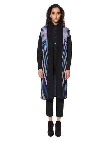 Mara Hoffman Compass Knit Long Cardigan