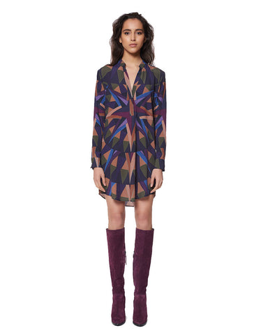 Mara Hoffman Compass Shirt Dress