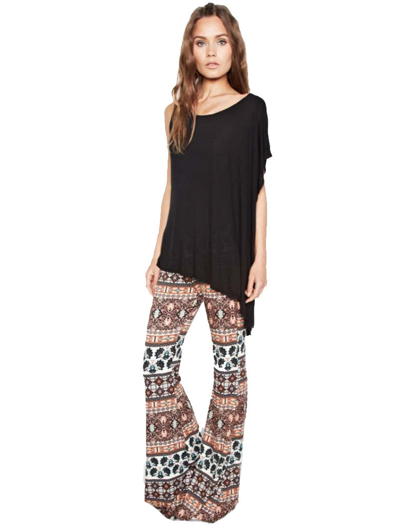 Michael Lauren Mars Bell Pant in Sequoia - SWANK - Pants - 1