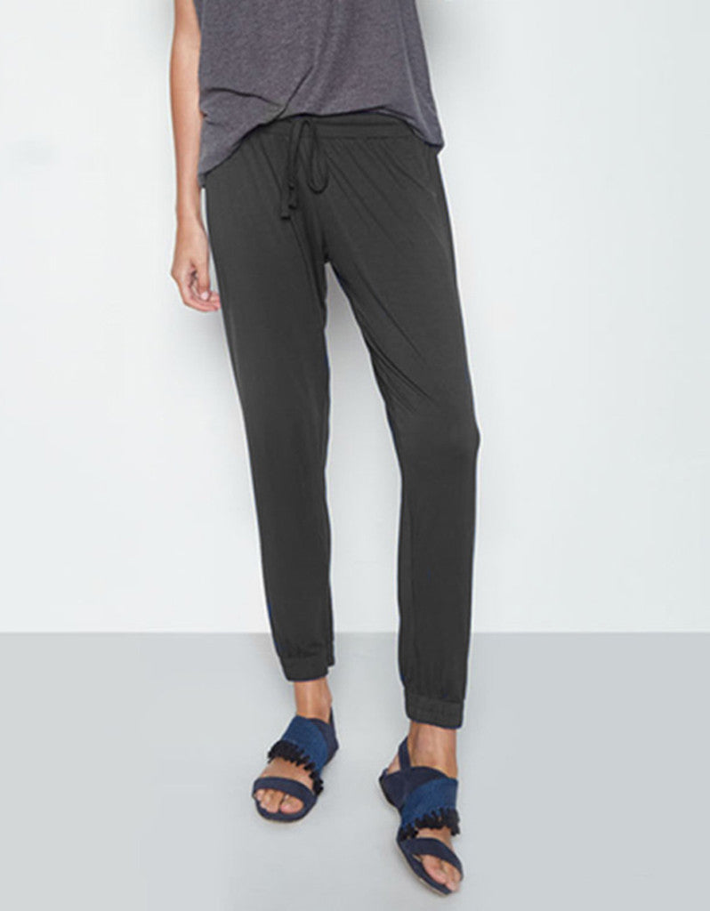 Michael Lauren Radley Pant in Black