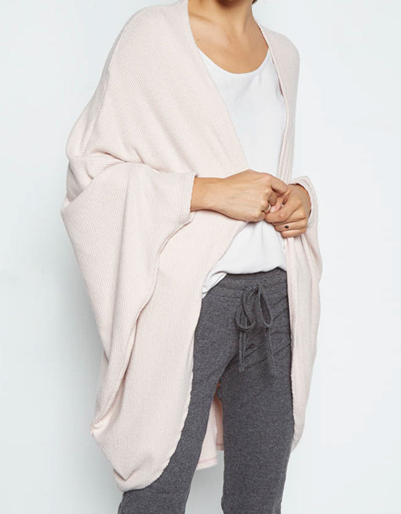 Michael Lauren Easton Cardigan in Blush - SWANK - Tops - 2