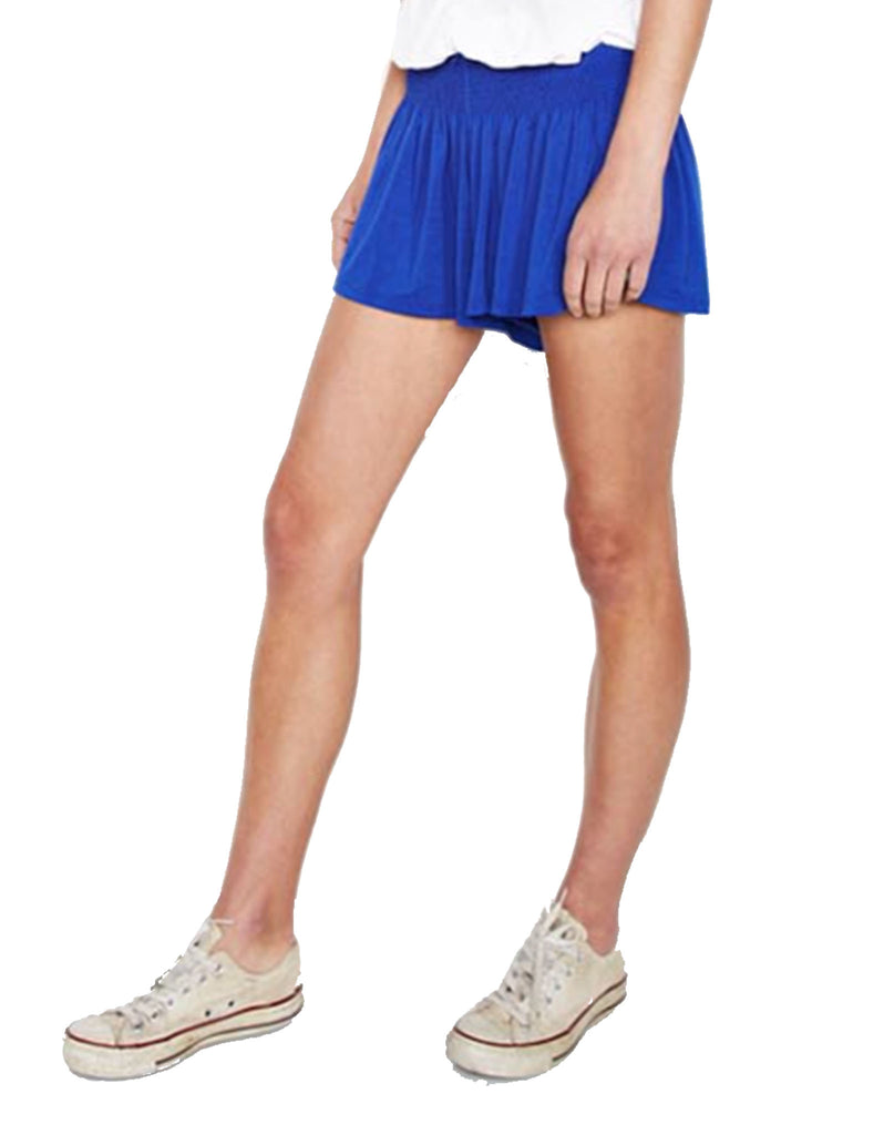 Michael Lauren Fox Smocked Short in Moonstone - SWANK - Shorts - 3