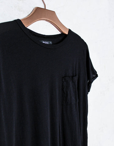 Michael Lauren Griffin Tee w/Pocket in Black