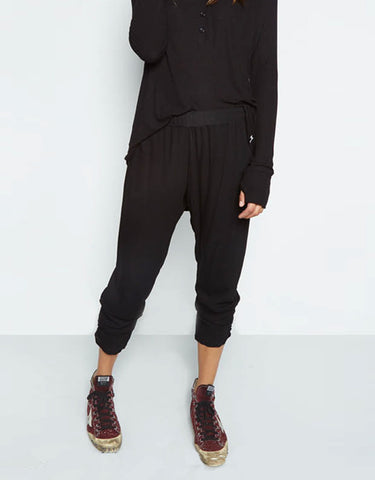 Michael Lauren Pablo Pant w/Shirring in Black
