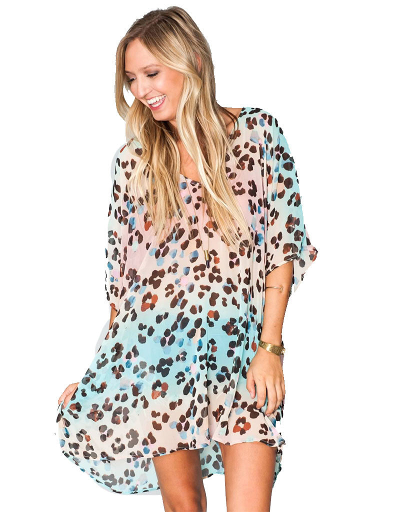 Show Me Your Mumu Mae Mu in Cheetahpop - SWANK - Dresses - 1