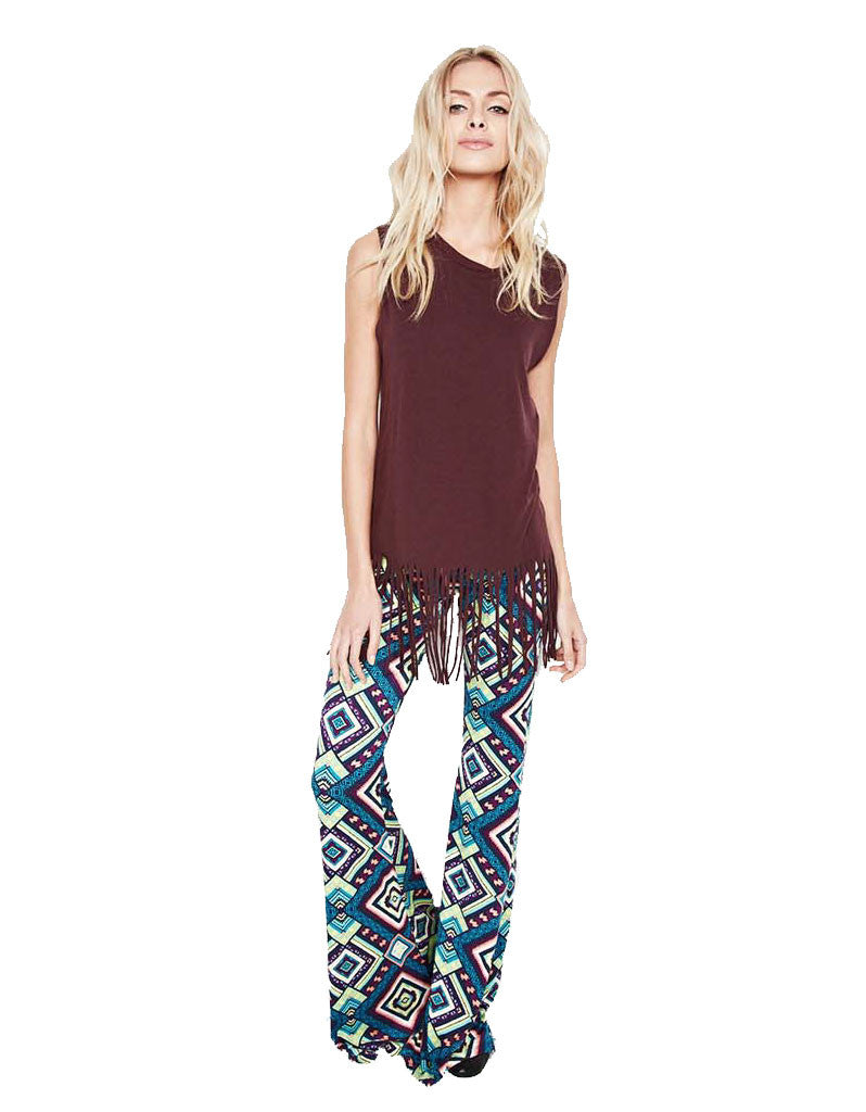 Michael Lauren Mars Bell Pant in Mirage - SWANK - Pants - 1