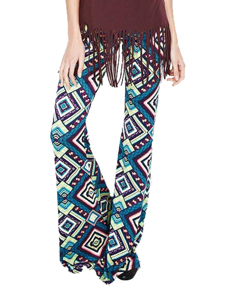 Michael Lauren Mars Bell Pant in Mirage - SWANK - Pants - 4