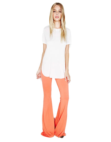 Michael Lauren Mars Bell Pant in Sunset