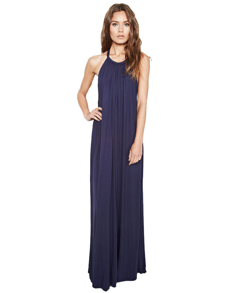 Michael Lauren Matador 2 Tier Maxi Dress - SWANK - Dresses - 3