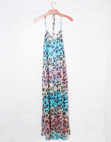 Show Me Your Mumu Eryln Maxi Dress in Pink Colada
