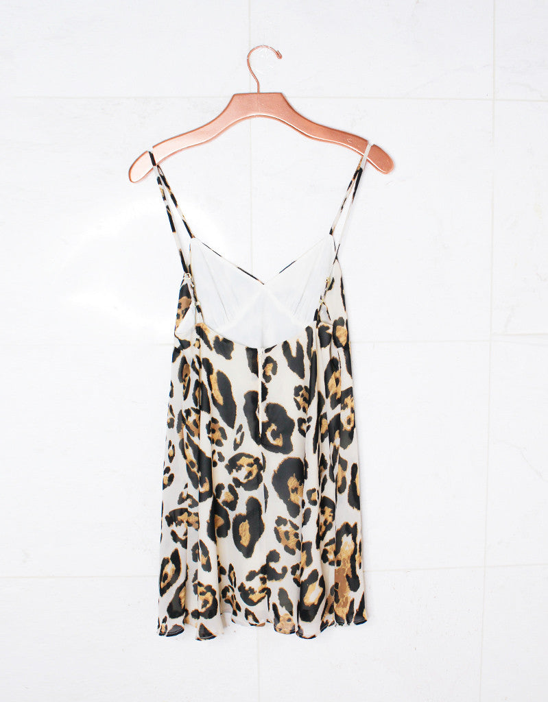 Show Me Your Mumu Winona Strappy Dress in Late Night Leopard - SWANK - Dresses - 3