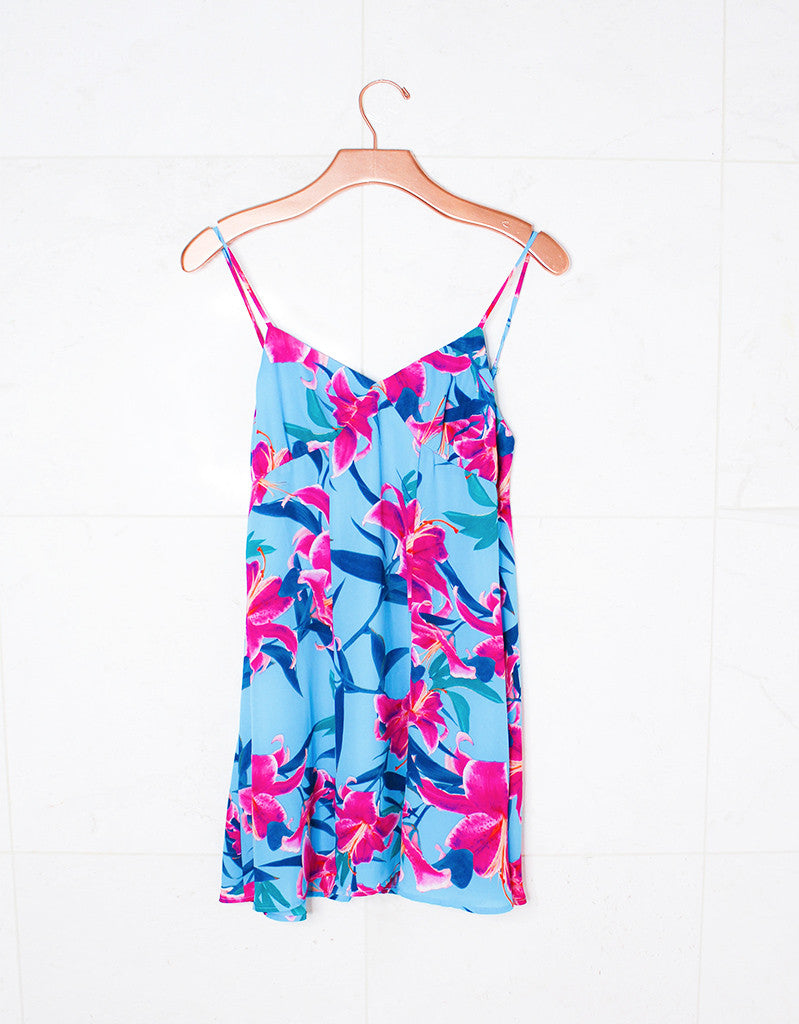 Show Me Your Mumu Winona Strappy Dress in Sea Lilies - SWANK - Dresses - 1