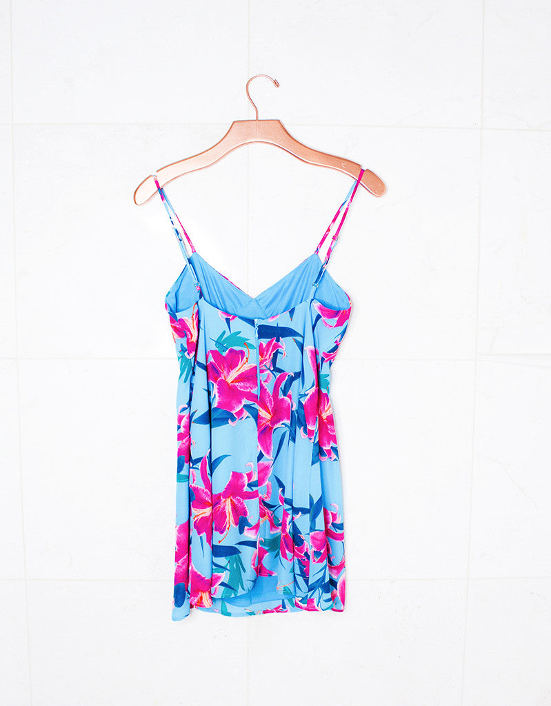 Show Me Your Mumu Winona Strappy Dress in Sea Lilies - SWANK - Dresses - 5
