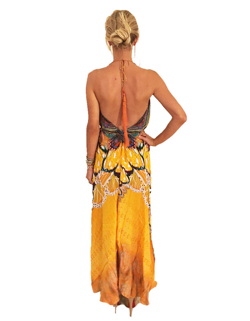 Parides Avatar 3-Way Style Dress in Papaya - SWANK - Dresses - 3