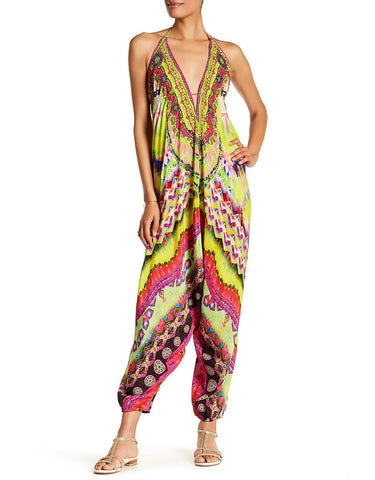 Shahida Parides Sarina Harem Jumpsuit in Yellow