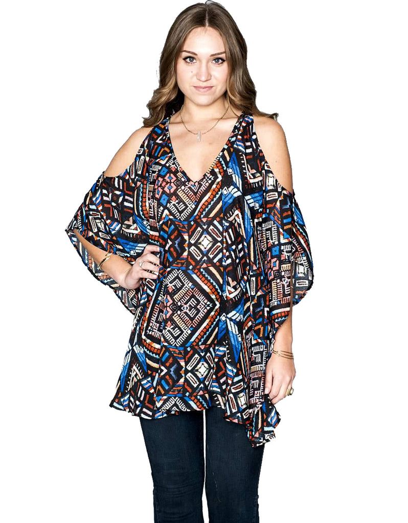 Show Me Your Mumu Peta-Boo Tunic - SWANK - Tops - 2