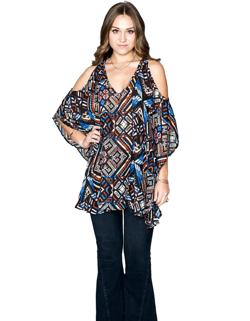 Show Me Your Mumu Peta-Boo Tunic - SWANK - Tops - 5