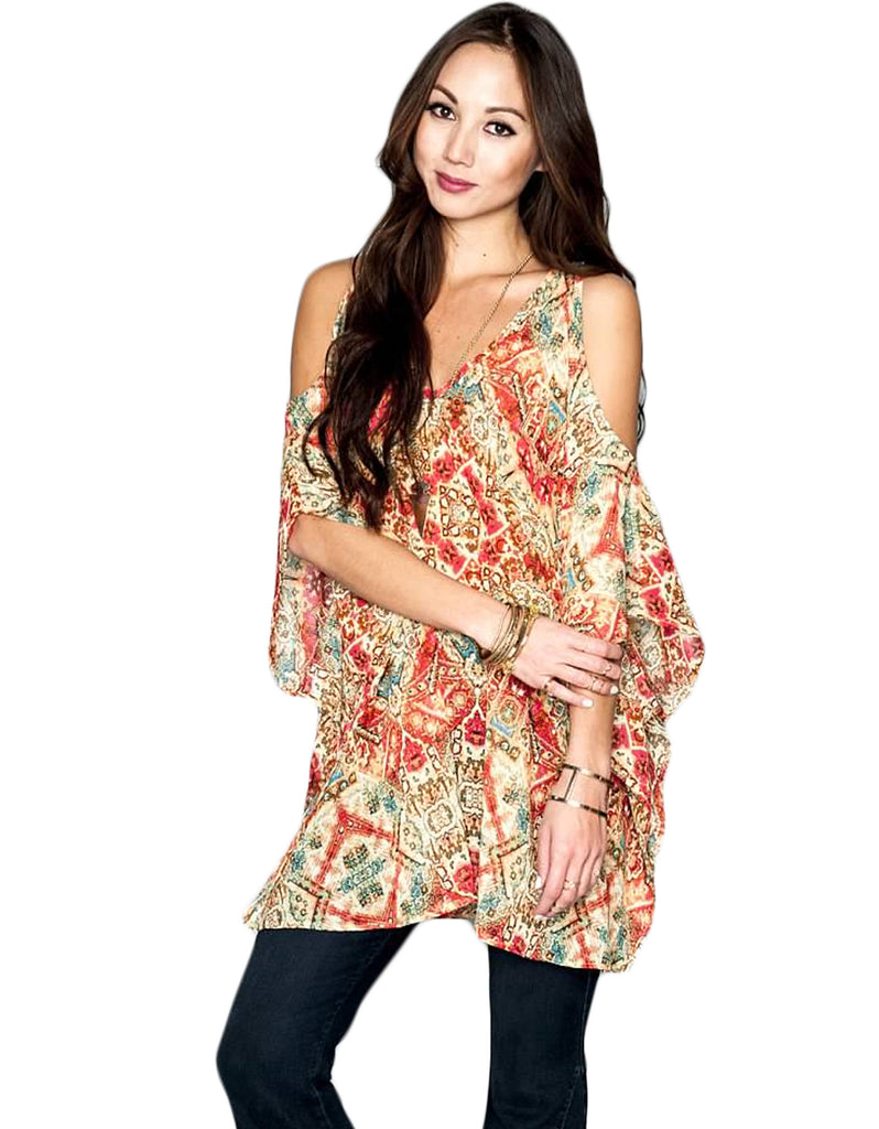 Show Me Your Mumu Peta-Boo Tunic - SWANK - Tops - 1