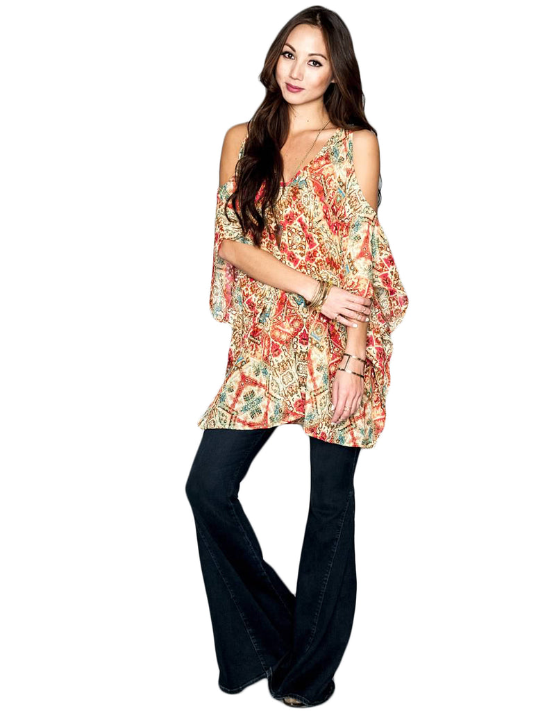 Show Me Your Mumu Peta-Boo Tunic - SWANK - Tops - 3