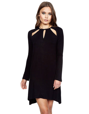 Michael Lauren Reef Mini Dress w/Cutouts