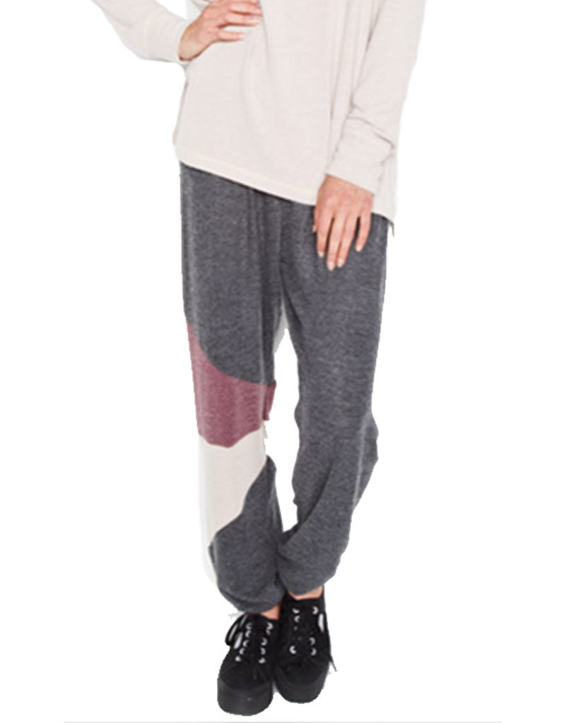 Michael Lauren Rizzo Colorblock Sweatpant - SWANK - Pants - 3