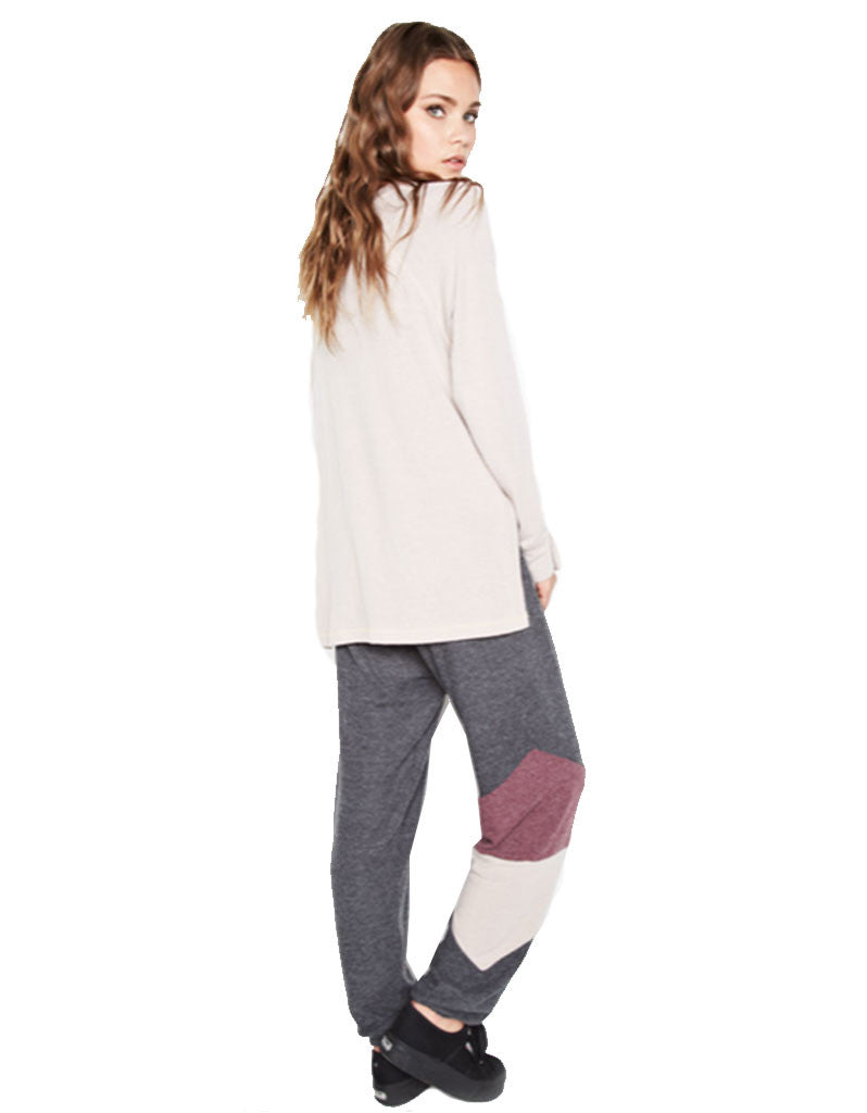 Michael Lauren Rizzo Colorblock Sweatpant - SWANK - Pants - 2