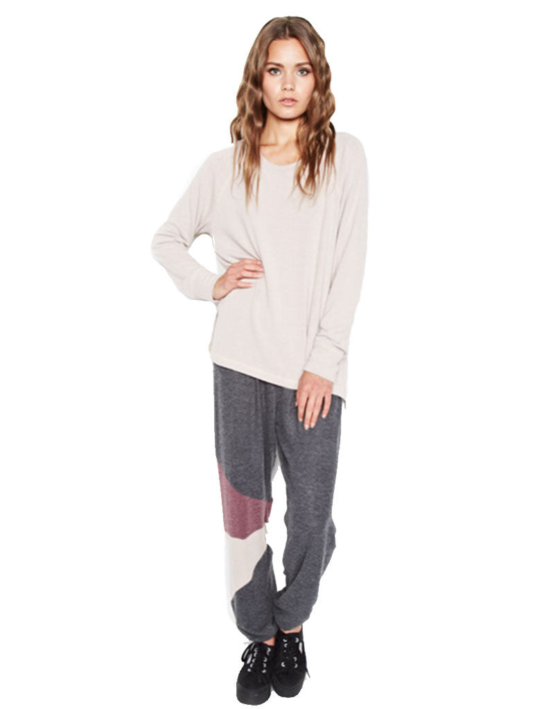 Michael Lauren Rizzo Colorblock Sweatpant - SWANK - Pants - 1