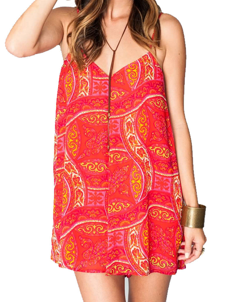 Show Me Your Mumu Rascal Romper in Pink Colada - SWANK - Jumpsuits - 3