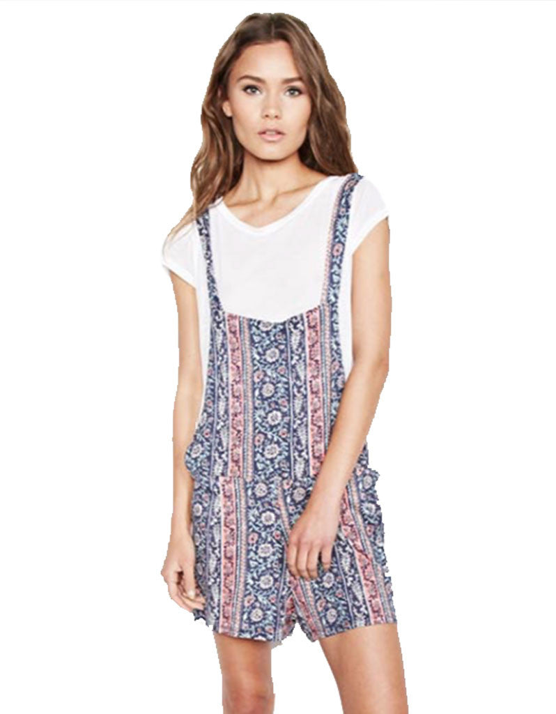 Michael Lauren Ridley Shorts Overalls in Boho South - SWANK - Shorts - 2
