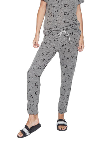 Michael Lauren Shepherd Pant in Heather Grey Star