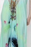Shahida Parides Short 3-Way Style Dress in Aqua - SWANK - Dresses - 3