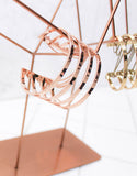 Jenny Bird Series Cuff in Rose Gold - SWANK - Jewelry - 4