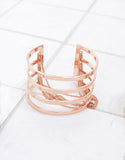 Jenny Bird Series Cuff in Rose Gold - SWANK - Jewelry - 1