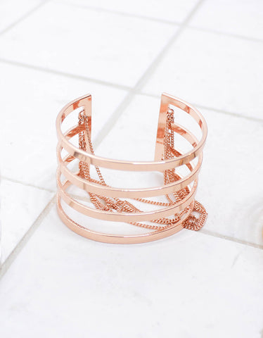 Jenny Bird Series Cuff in Rose Gold