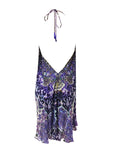 Shahida Parides Short 3-Way Style Dress in Purple Rain - SWANK - Dresses - 4