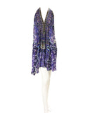 Shahida Parides Short 3-Way Style Dress in Purple Rain - SWANK - Dresses - 1