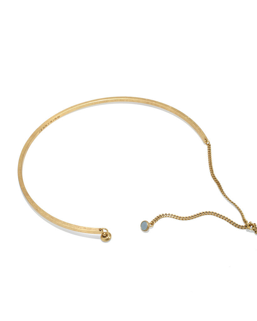 Jenny Bird Skye Lariat Necklace in Gold - SWANK - Jewelry - 3